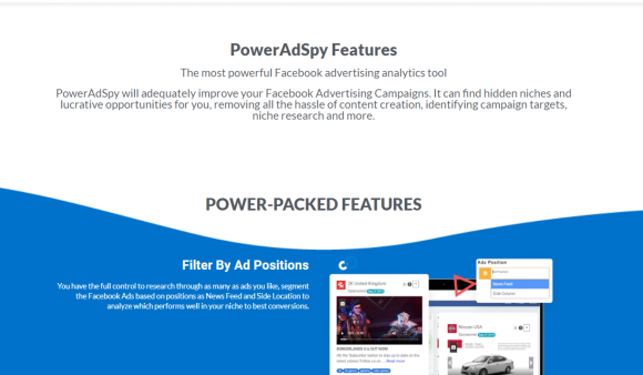 PowerAdSpy Features