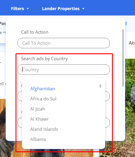 Search Ads By Country