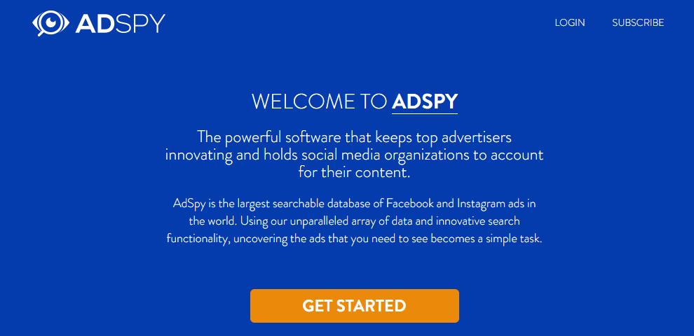 AdSpy Home