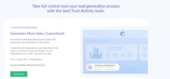 Trust Activity Features