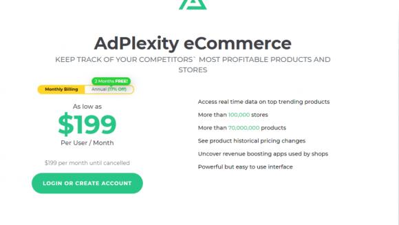 AdPlexity ECommerce Pricing