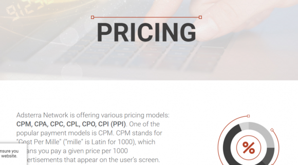 AdsTerra Pricing