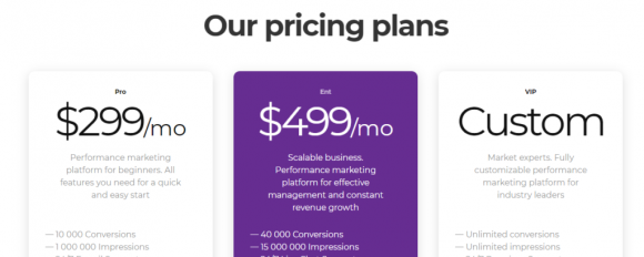Affise Pricing
