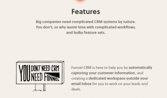 Funnel CRM Features