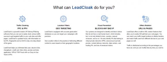 LeadCloak-Features