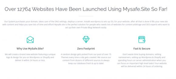 MySafeSite Features