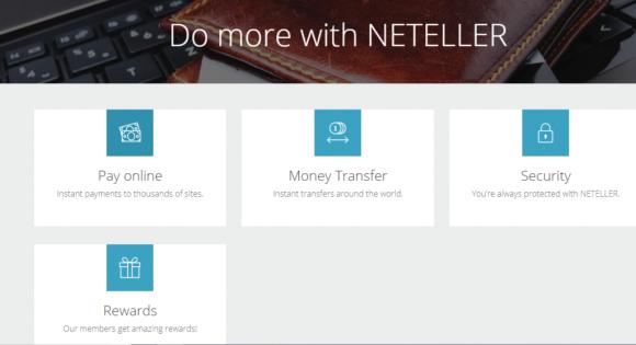Neteller-Features