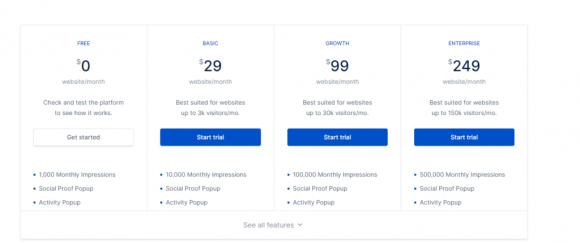 Nextsale Pricing