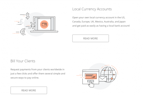 Payoneer Features