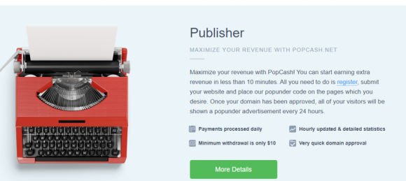 PopCash Pricing