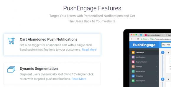 PushEngage Features