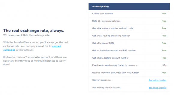 TransferWise-Pricing