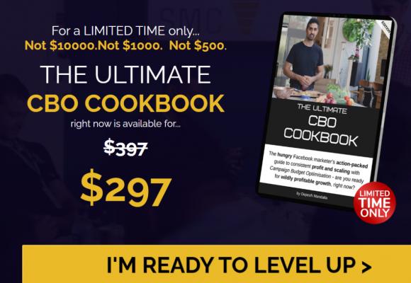 Ultimate CBO Cookbook Pricing