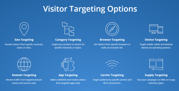 Visitor Targeting Options
