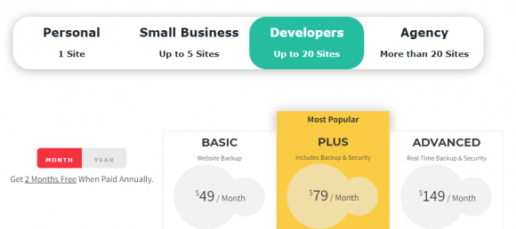 BlogVault Pricing + BlogVault Coupon