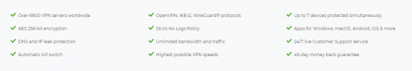 CyberGhost VPN Features