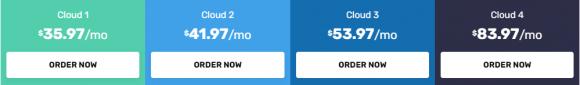 FastComet Pricing - Cloud VPS Hosting