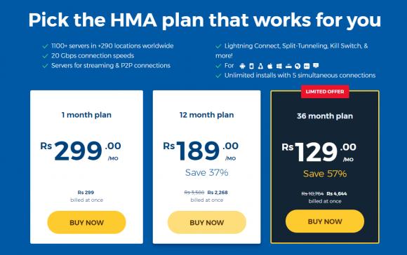 HideMyAss Coupon Code & Pricing