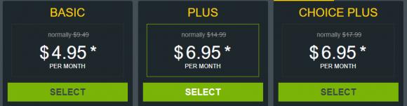 HostMonster Pricing