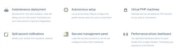 RunCloud Features