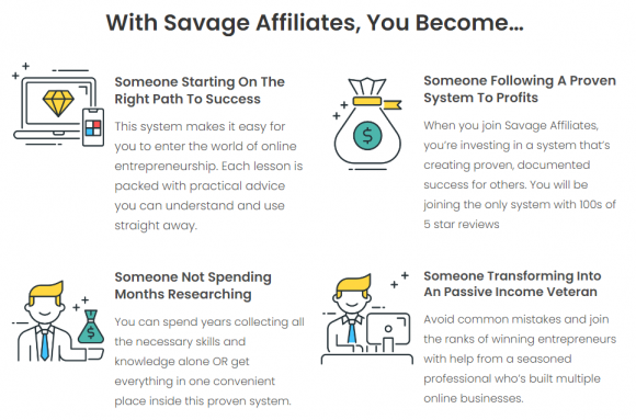 Savage Affiliates Modules